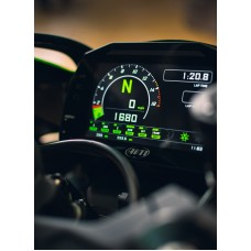 AIM Sports MXK10 Plug & Play Dash Logger - 2011-15 Kawasaki ZX-10R
