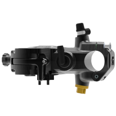 Accossato 19X18 Corsa Radial Brake Master Cylinder with Folding Lever RST and Integrated Brake Switch