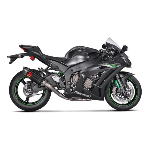 Akrapovic Racing Stainless / Carbon Fiber Exhaust System Kawasaki ZX-10R / ZX-10RR 2016-2018
