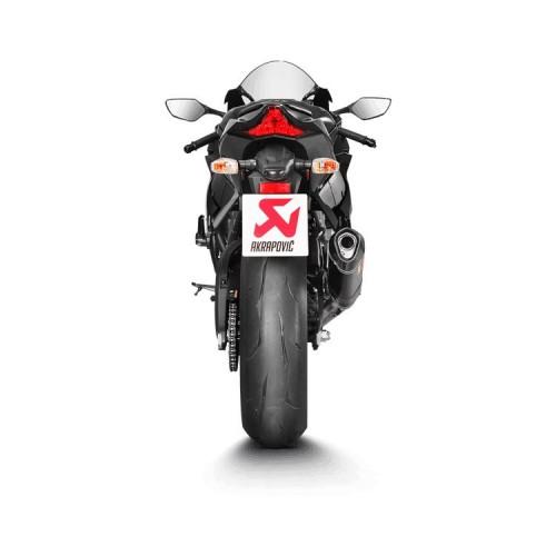 Akrapovic Evolution Titanium / Carbon Fiber Exhaust System Kawasaki ZX-10R / ZX-10RR 2016-2018