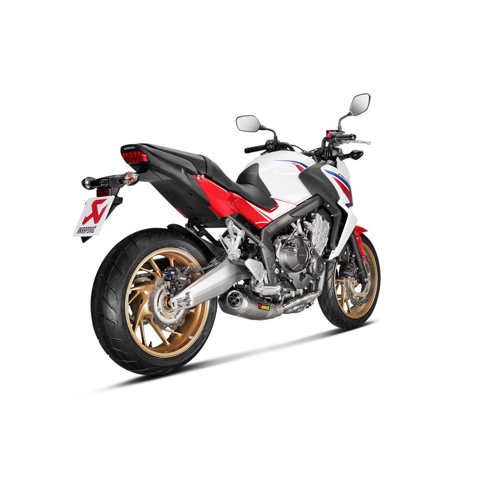 Akrapovic Racing Titanium Full Exhaust System 2015 Honda CBR650F