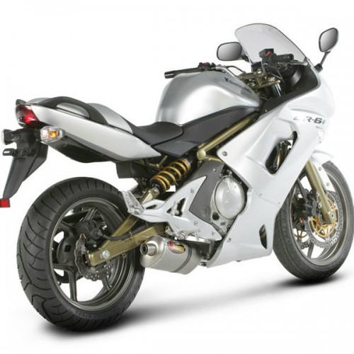 Akrapovic Racing Titanium Slip On Muffler 06 08 Kawasaki Ninja 650