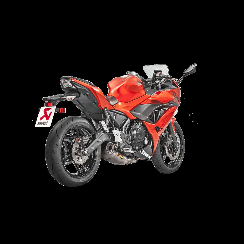 "Akrapovic ""Racing Line"" Full Exhaust 2017 Kawasaki  Ninja 650"