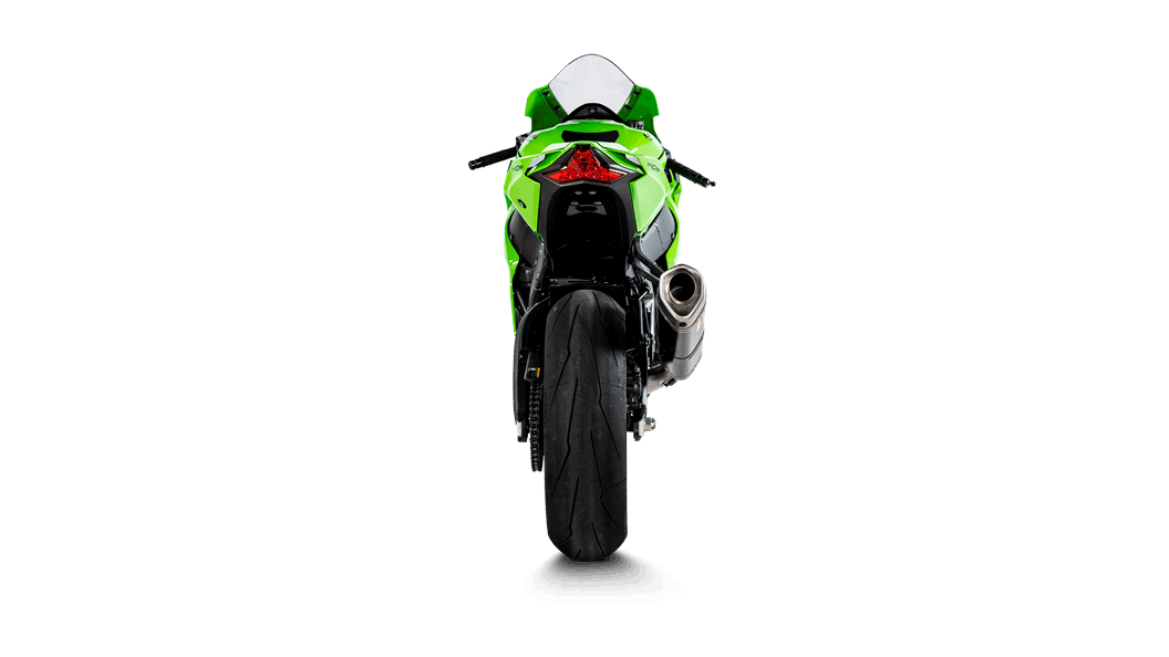 """Akrapovic """"Evolution Line"""" Full Exhaust System With Carbon Silencer Kawasaki ZX10R 2021"""
