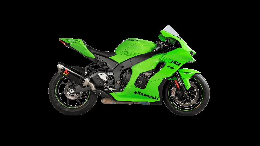 "Akrapovic ""Slip On Line"" Carbon Exhaust For Kawasaki ZX10R 2021"