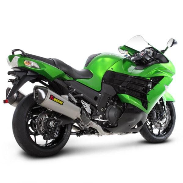 Akrapovic 'Racing Line' Full Exhaust System 12-16 Kawasaki  Ninja ZX-14R