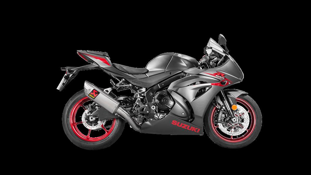 Akrapovic Titanium Evolution Full Racing Exhaust System - 2017+ Suzuki GSX-R1000 / 1000R