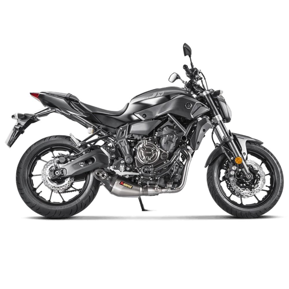Akrapovic 'Racing Line' Full Exhaust System Muffler 15-18 Yamaha FZ-07