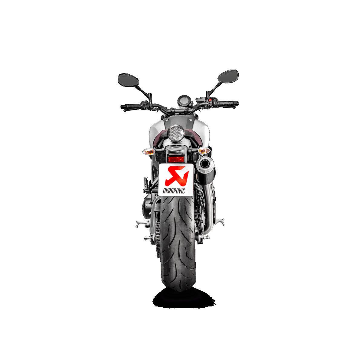 Akrapovic Racing Full Exhaust System - High Mount Muffler 16-18 Yamaha XSR 900