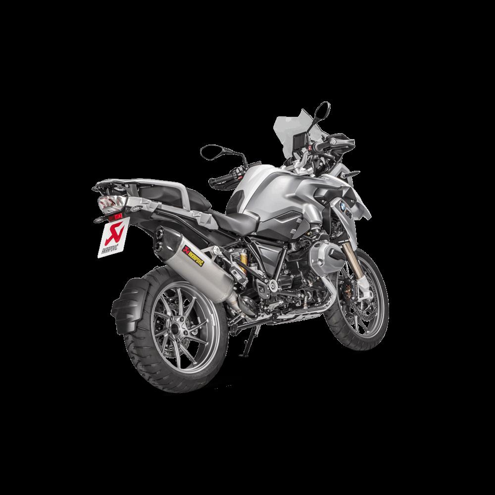 Akrapovic Racing Titanium Slip On Exhaust 2017 BMW R1200GS