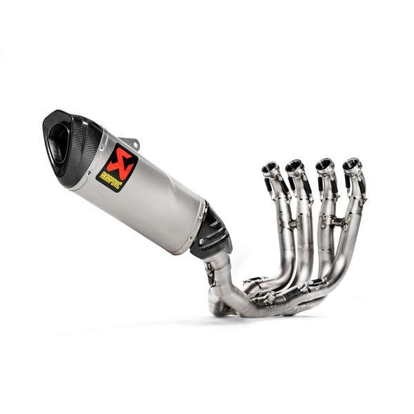 Akrapovic Titanium Evolution Full Racing Exhaust System - 2019+ BMW S1000RR