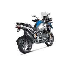 Akrapovic Racing Black Slip On Exhaust 14-15 BMW R1200GS
