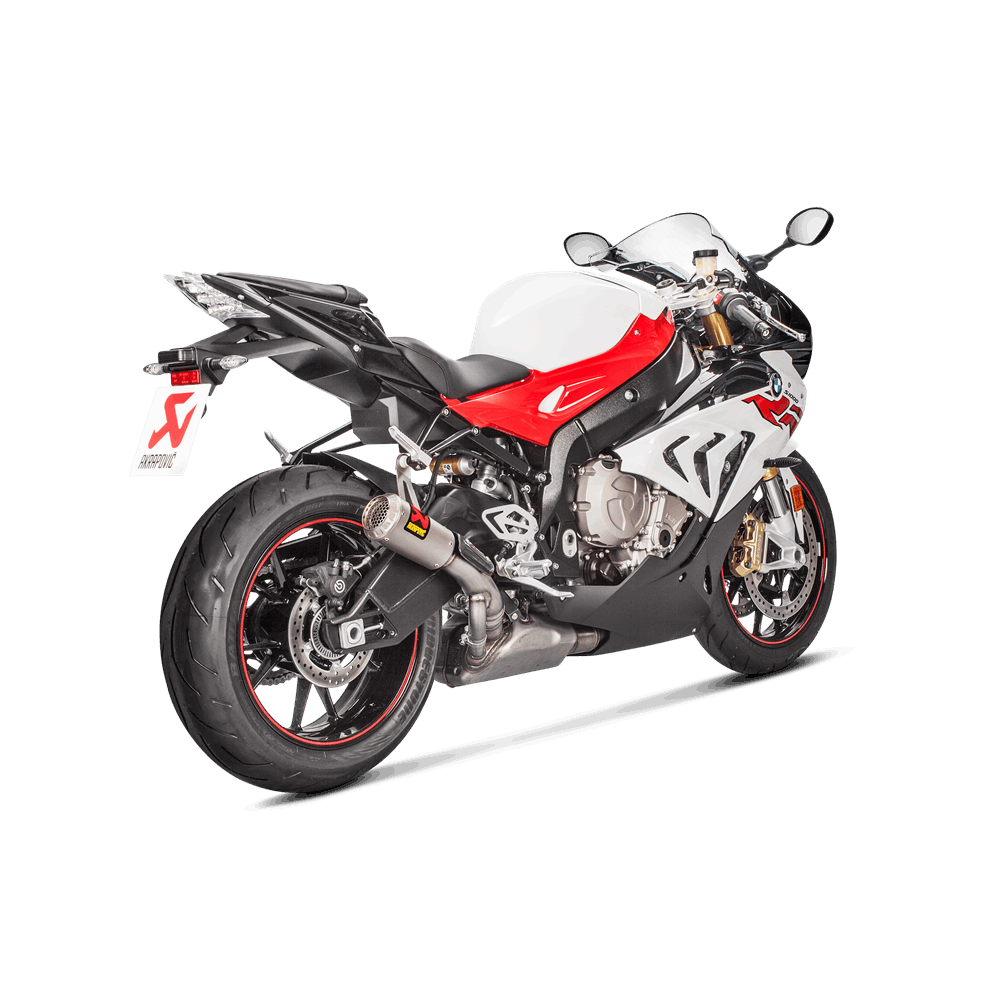 Akrapovic Racing Titanium Slip On Exhaust 2017 BMW S1000RR
