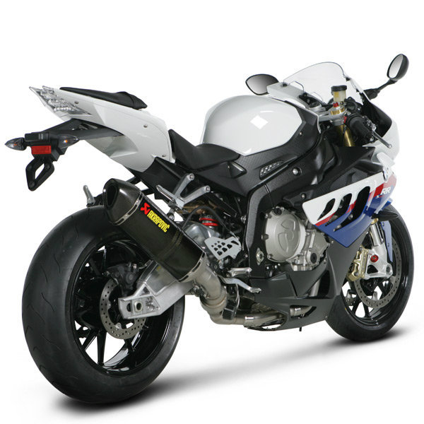 Akrapovic Racing Full Exhaust System (Stainless/Carbon) 10-14 BMW S1000RR