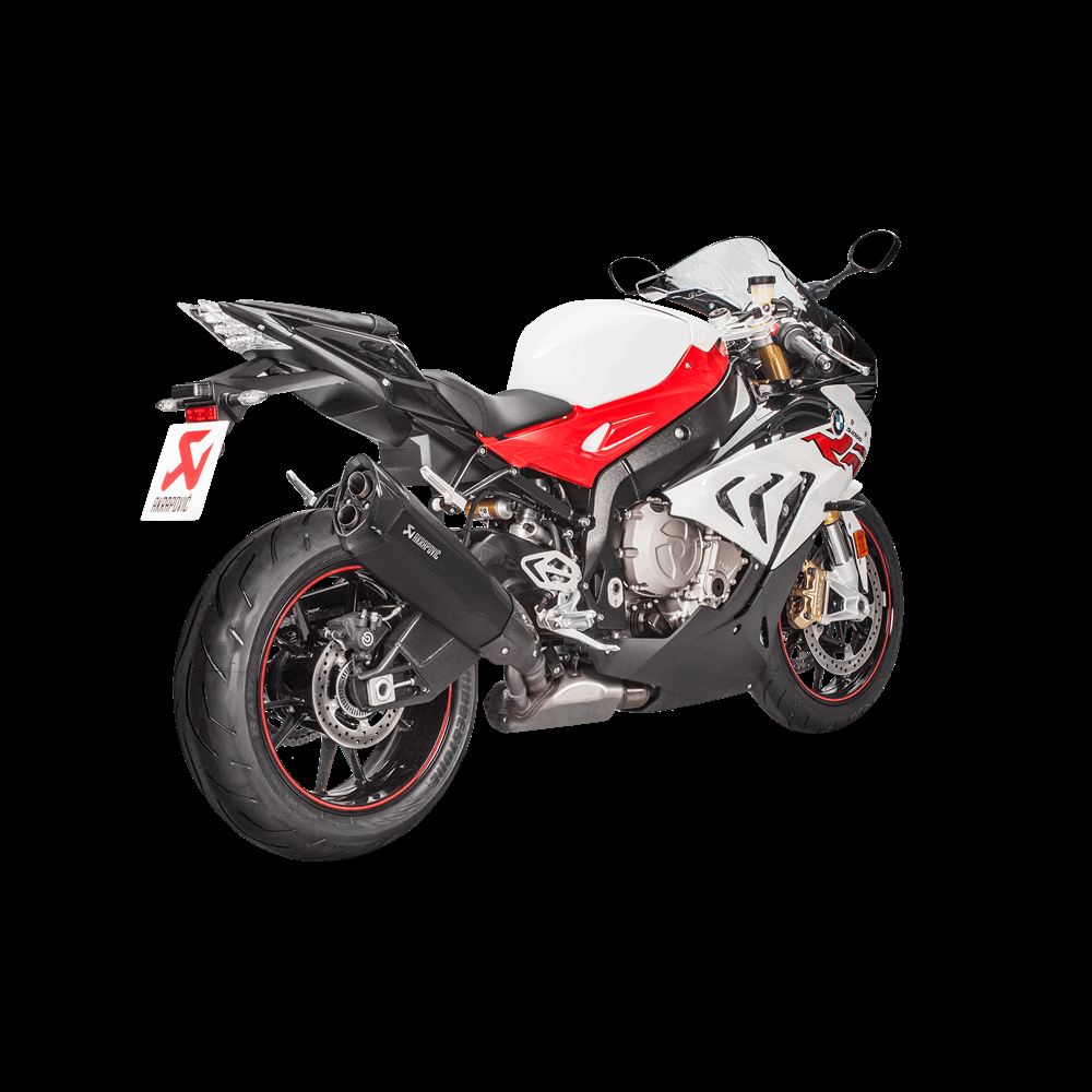 Akrapovic Racing Black Titanium Slip On Muffler 2017 Bmw S1000rr