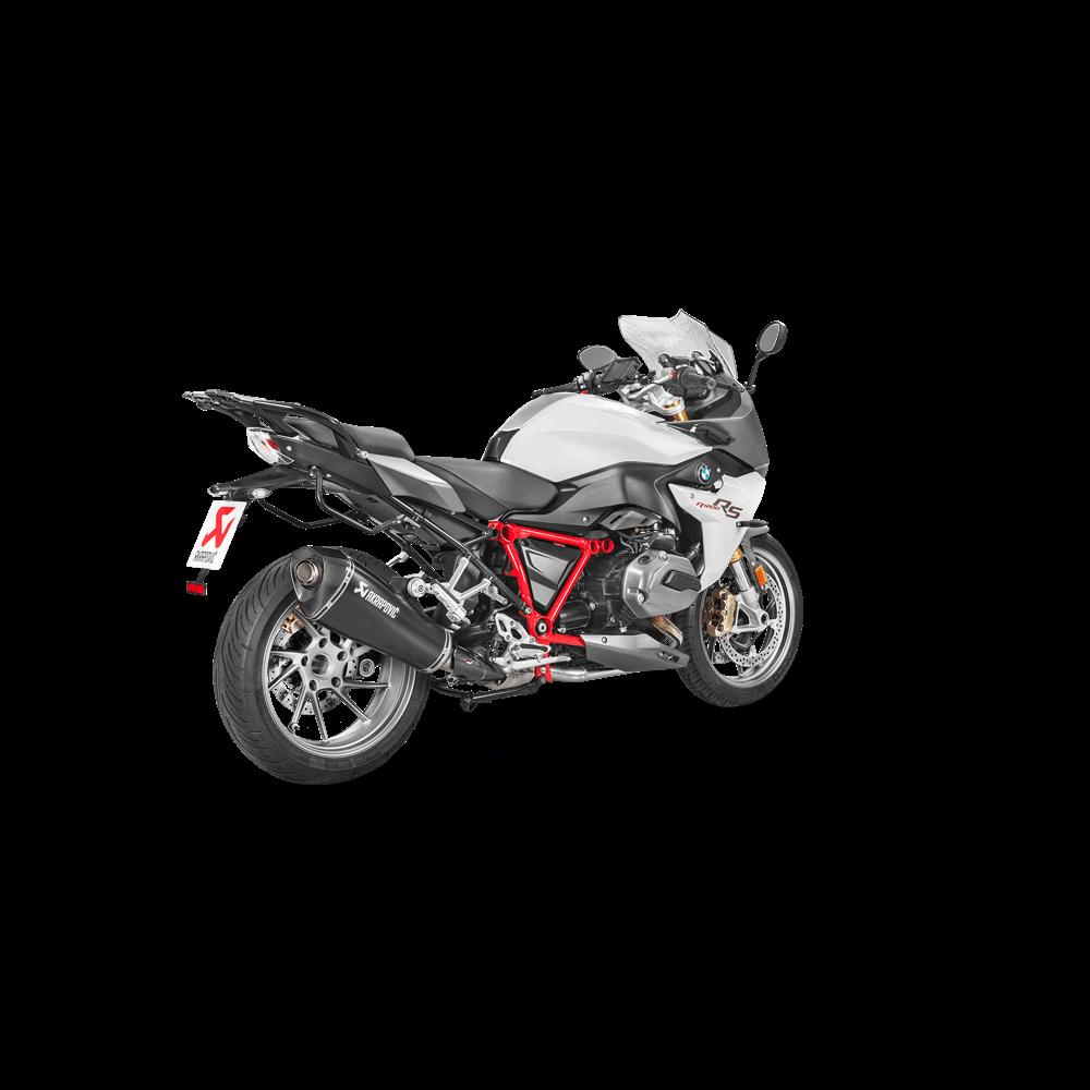 Akrapovic Racing Black Titanium Slip On Exhaust 15-17 BMW R1200RS