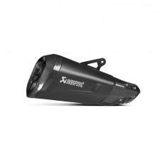 Akrapovic Racing Black Titanium Slip On Exhaust 17-18 BMW S1000XR