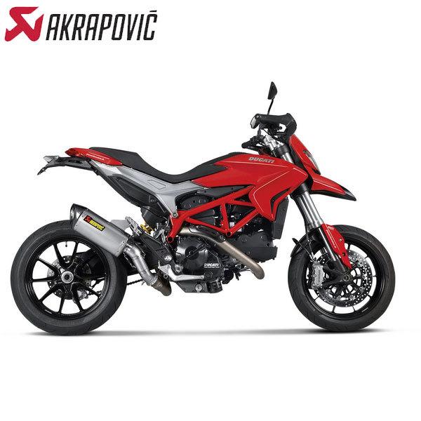 Akrapovic Racing Titanium Headers 13-14 Ducati Hypermotard 800