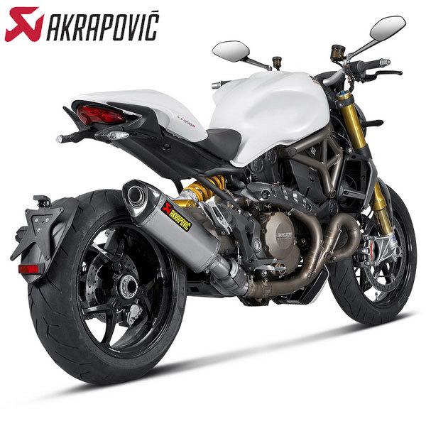 Akrapovic Racing Stainless Steel Link Pipe 2014 Ducati Monster 1200 / 1200S