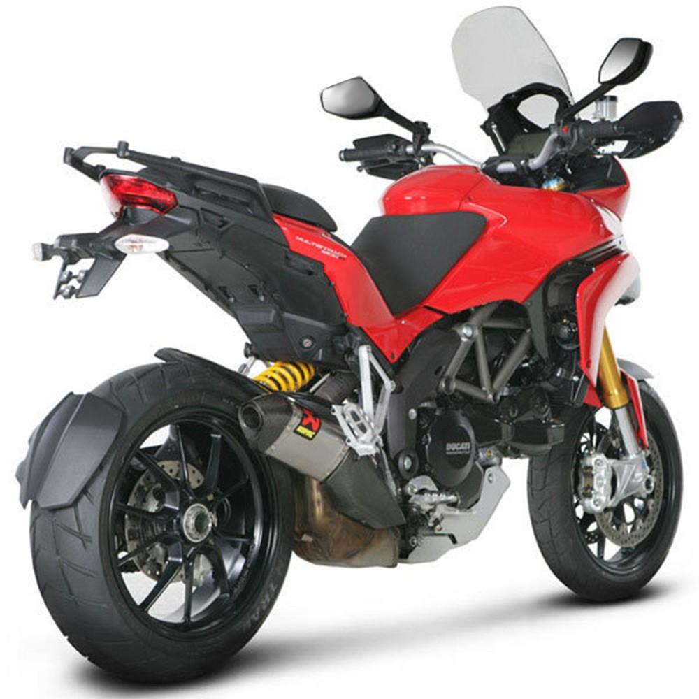 Akrapovic Racing Titanium Slip On Mufflers 15-16 Ducati Multistrada 1200 / S / Touring