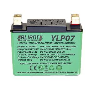 Aliant YLP07 7.0 AH ALICHEM Lifepo4 Battery