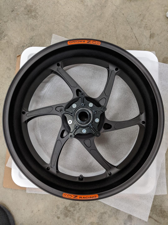 OZ Cattiva RS-A Forged Aluminum Wheel Set - 2020 BMW S1000RR (K67)