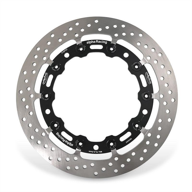 Alpha Racing 320x6 mm EVO Brake Disc / Rotors Set (Cast Wheels) - 2019 (2020 US) BMW S1000RR K67