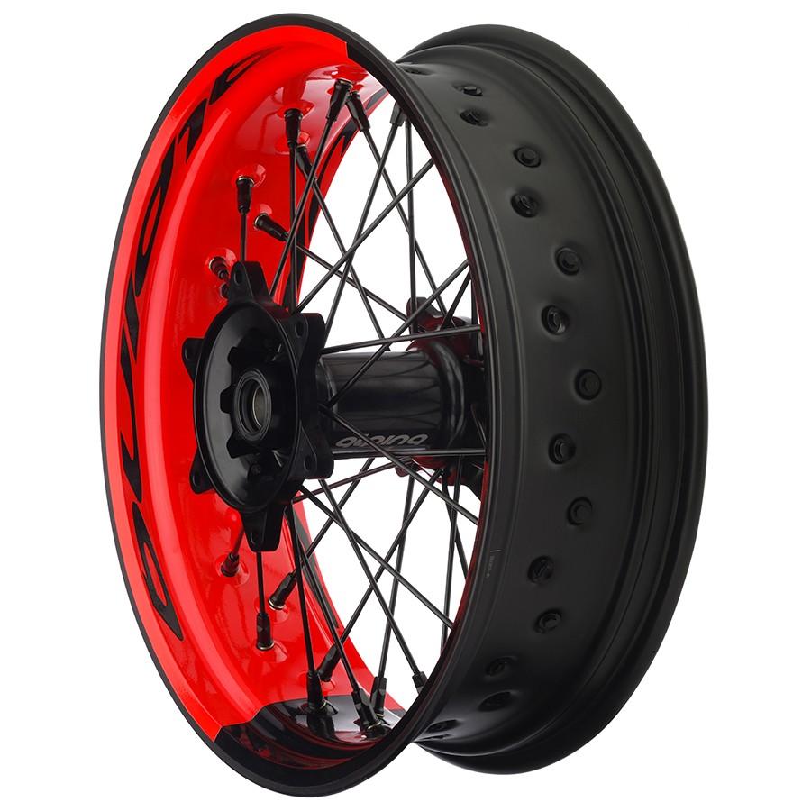Alpina STS2 Tubeless Bicolor Custom Spoke Wheels Ducati Monster 797  2017 - 2021