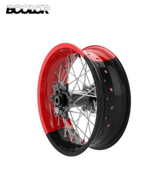 Alpina STS2 Tubeless Bicolor Custom Spoke Wheels Yamaha MT07 2015 - 2019