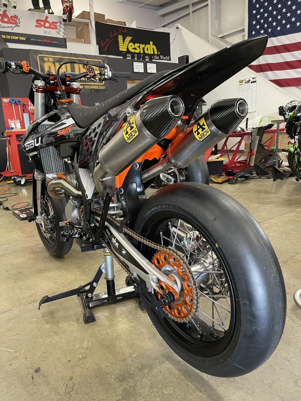 Supermoto Engine & Exhaust