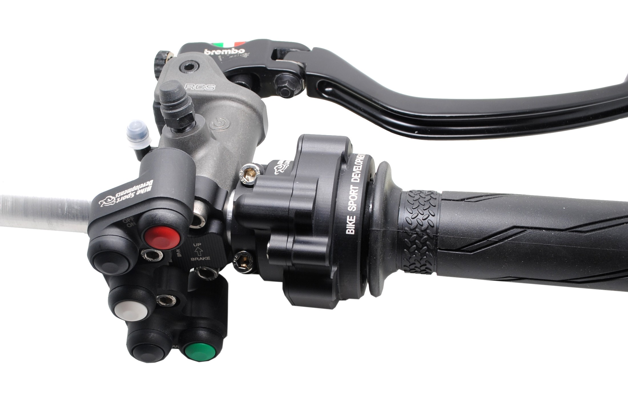 Bike Sport Developments -  Right Button Pod and Throttle Sensor Housing Kit - 2020 Yamaha YZF-R1