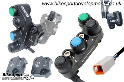 Bike Sport Developments - Plug & Play Left Button Pod (M/C mount) - 2020 Ducati Panigale V2