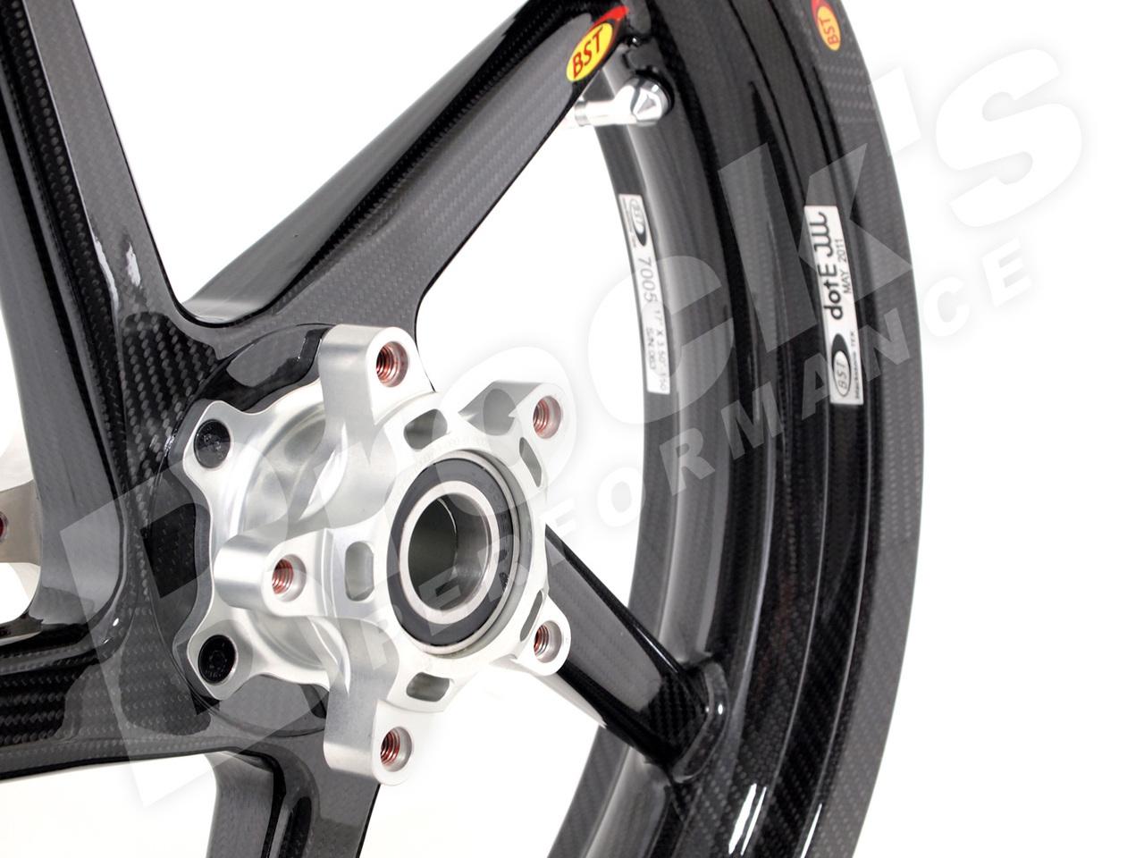 BST Diamond TEK 17 x 3.5 R+ Series Front Wheel - Suzuki GSX-R1000 (01-04) / GSX-R750 (00-05) / GSX-R600 (04-05)