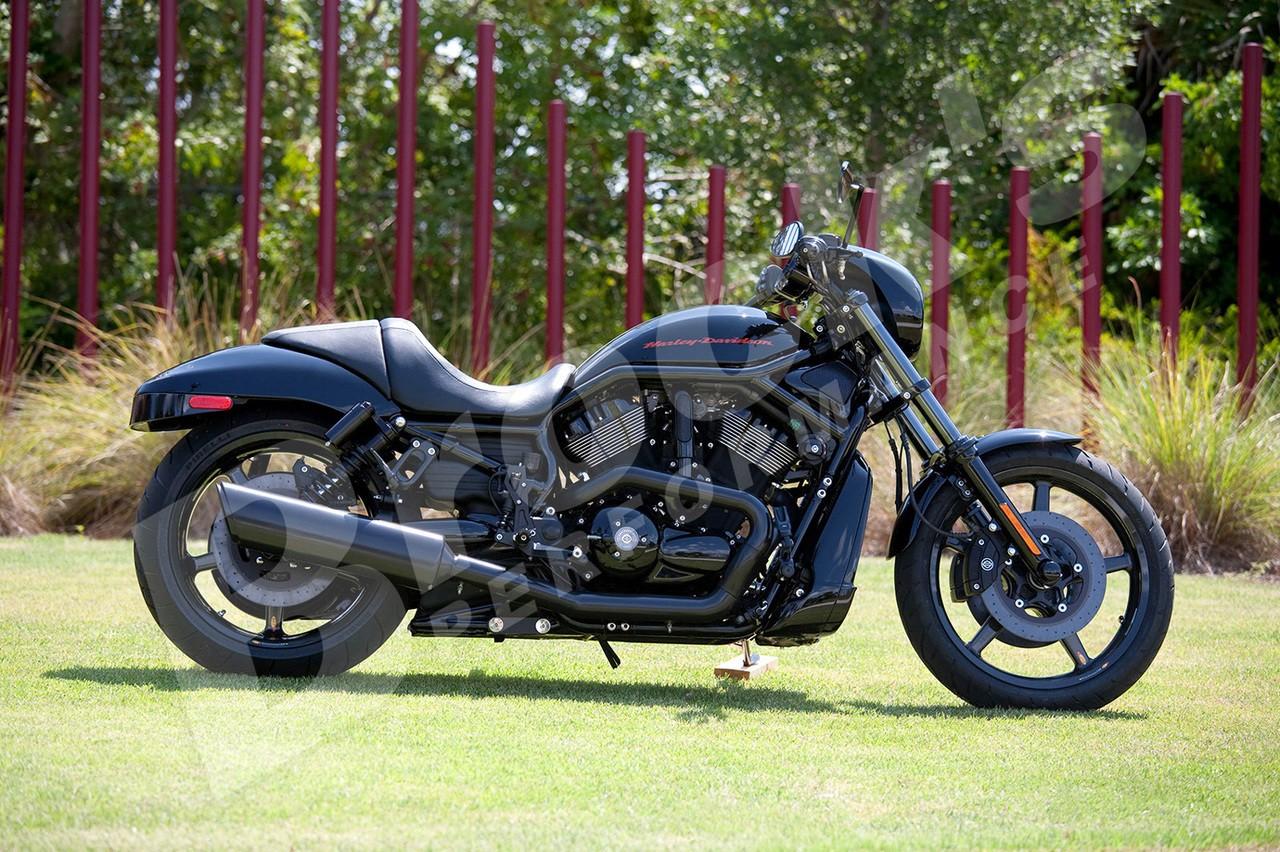 BST Twin TEK 18 x 8.0 Rear Wheel - Harley-Davidson V-Rod (08-17) and Night Rod (08-17) w/ABS