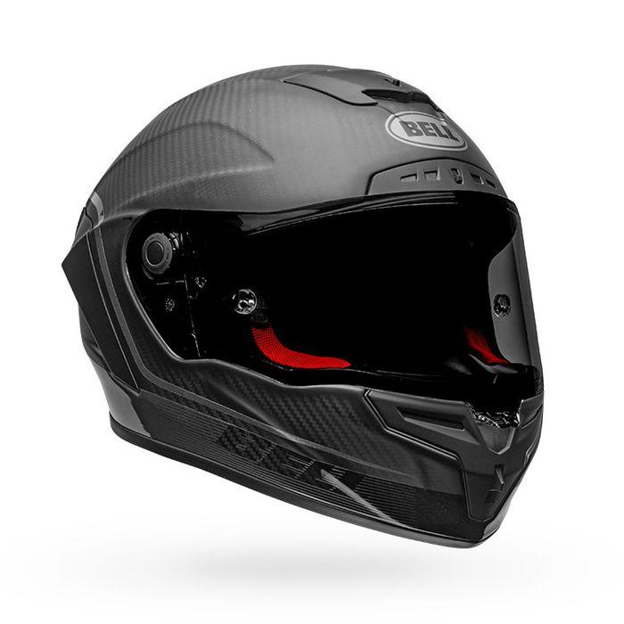 Bell Race Star Flex DLX Carbon Fiber Helmet - Velocity Black