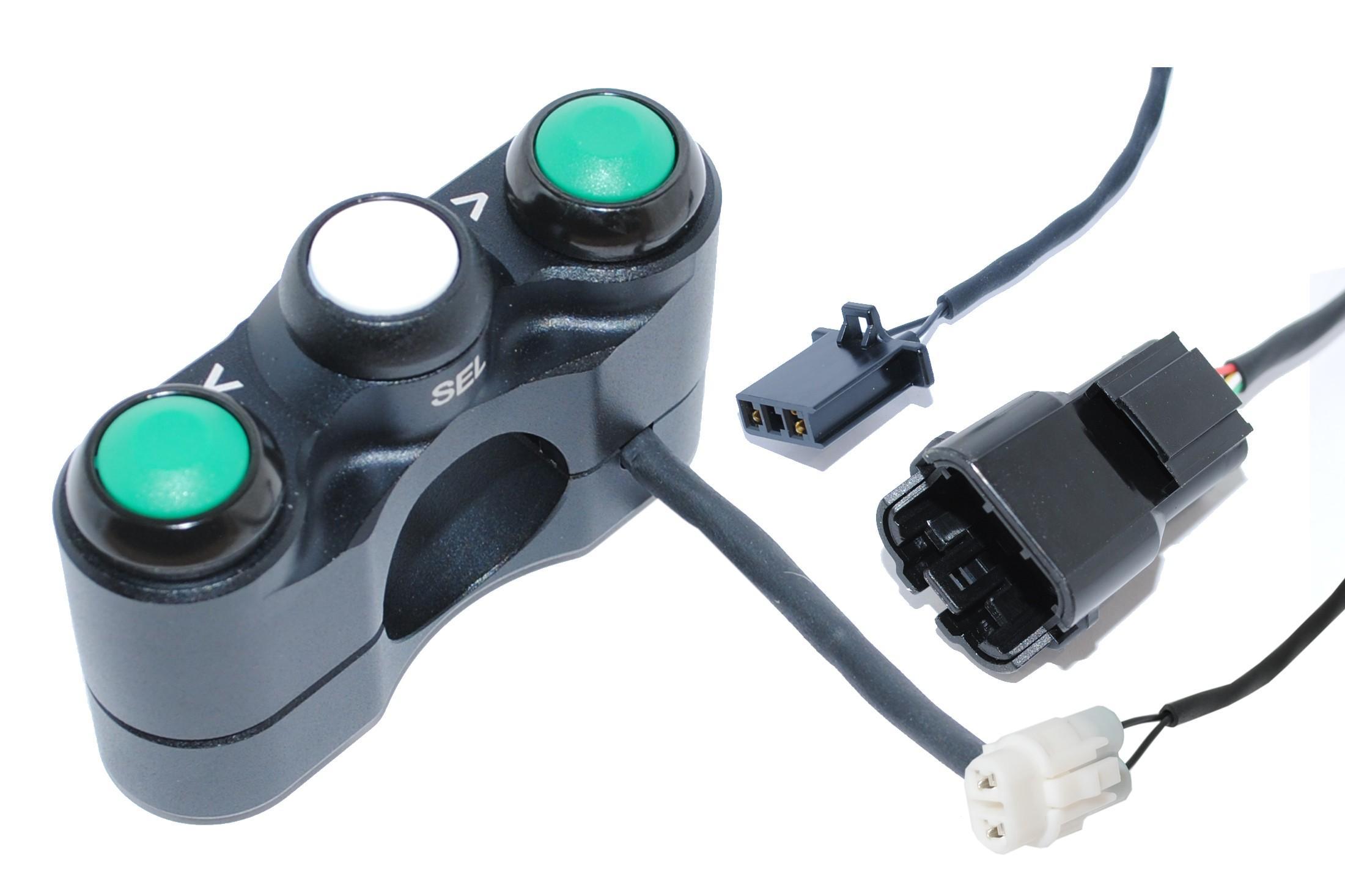 Bike Sport Developments - Plug & Play Left Button Pod - 2019 Kawasaki ZX-6R