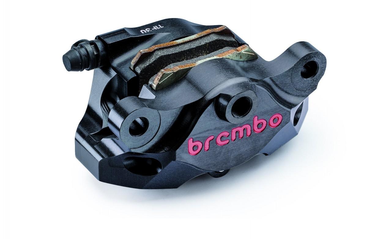 Brembo - Black Billet CNC Rear Caliper, 84mm Spacing