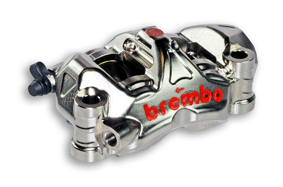 Brembo 108mm P4.34/38 Monobloc with Nickel Coating - (Right)