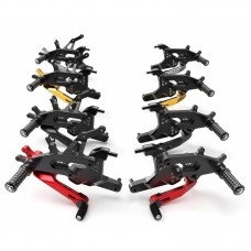 Ducabike Type 1 Adjustable Rearsets (ECO Fixed Foot Peg) - Ducati Panigale V4