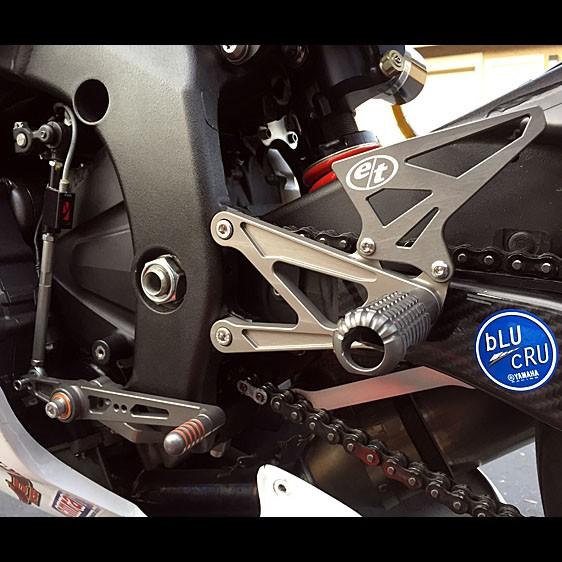 Evol Technology 2008-2020 Yamaha YZF-R6 Rearsets Kit