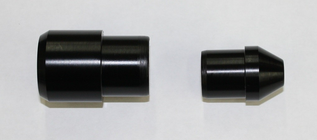 Fast Frank Racing 09-18 Aprilia RSV4 / Factory  Front Axle Guide & Pull Sliders