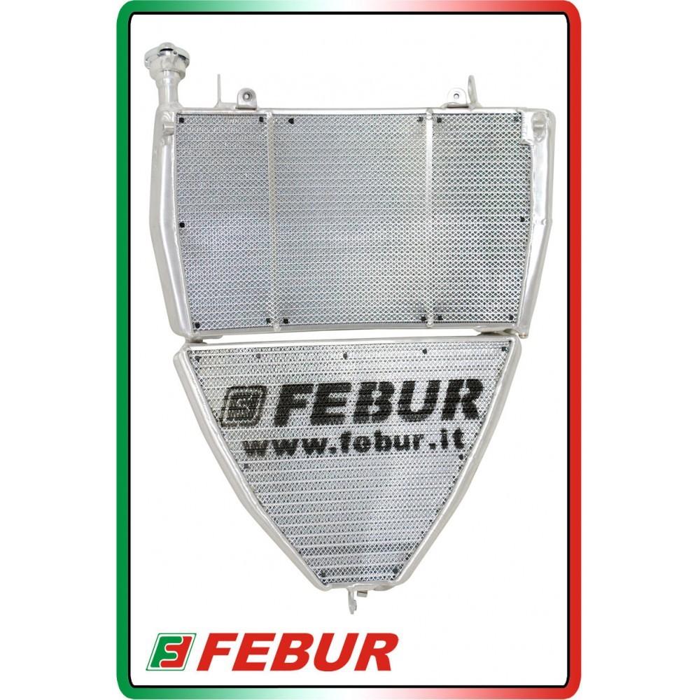 Febur Superbike Radiator / Oil Cooler Set - Ducati Panigale V4 / V4R / V4S