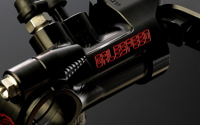 Galespeed Elaborate VRE 19 Variable Lever Ratio Control Billet Master Cylinder
