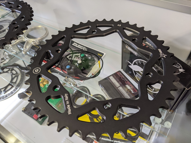 Gandini Race Billet Aluminum Hard Anodized Rear Sprocket - Superlite Quick Change - Ducati Panigale V4 / V4 R