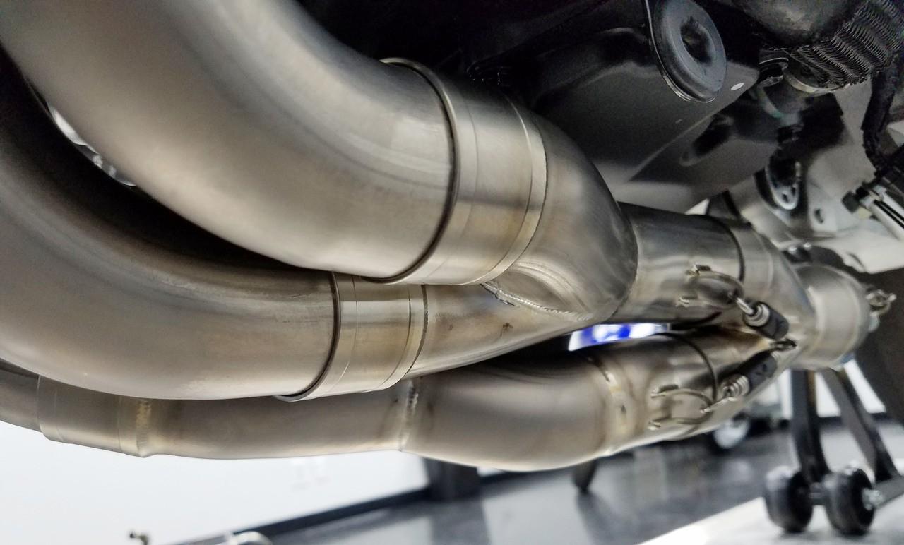 Graves Motorsports Honda CBR1000RR SP1 / SP2 Full Titanium Exhaust System
