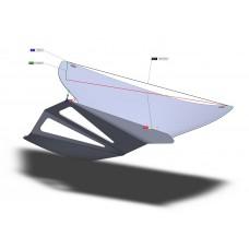 GripOne MotoGP-Spec Carbon Fiber Fairing Winglets 0W02
