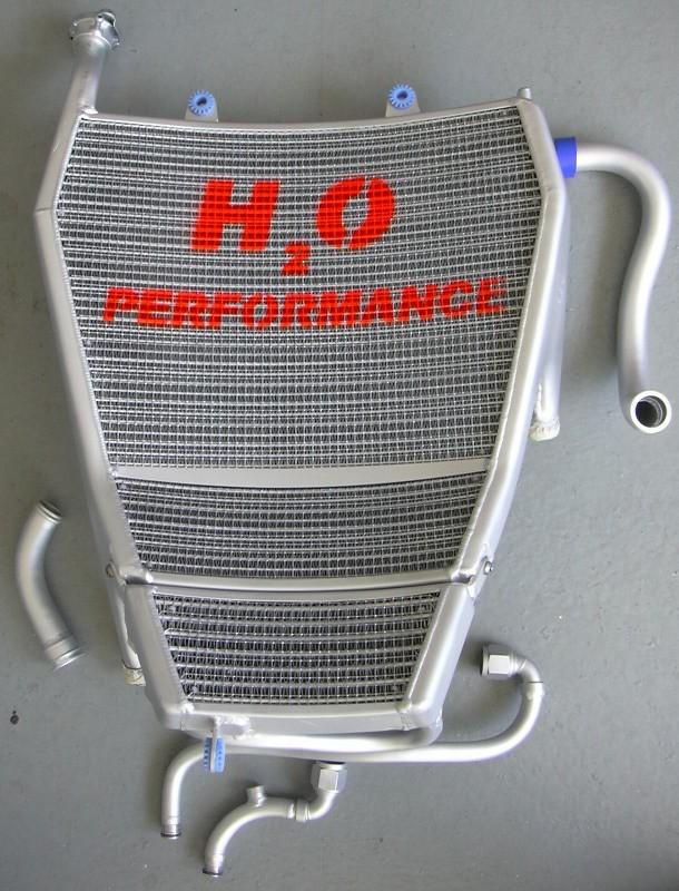 H2O Performance EVO Oversize Radiator and Oil Cooler kit - 2009-2018 BMW S1000RR
