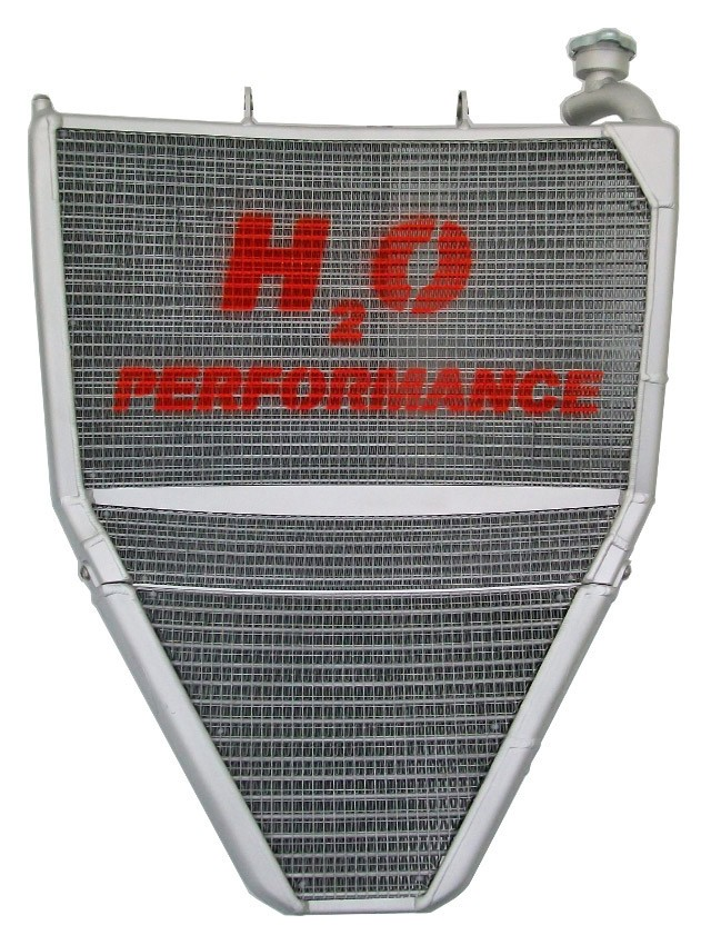 H2O Performance EVO Oversize Radiator and Oil Cooler kit - 2013-2018 Triumph Daytona 675 / 675R