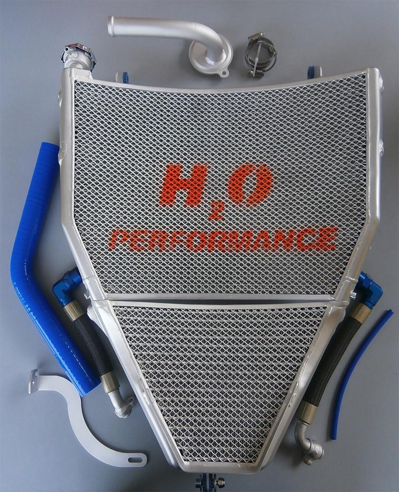 H2O Performance EVO Oversize Radiator and Oil Cooler kit - 2015-2019 Yamaha YZF-R1 / R1S / R1M