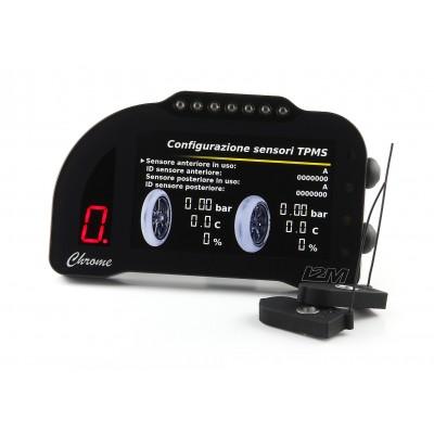 "i2M Chrome PRO 2 5"" Full Color LCD Dash & GPS Lap Timer - Plug & Play -  Honda, Kawasaki, Suzuki, Yamaha, Ducati, MV Agusta, Aprilia, BMW"